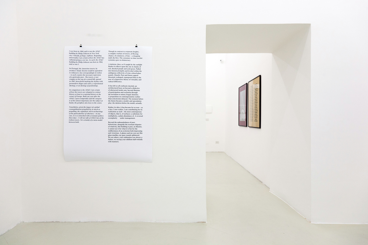 When's the end of celebration?, 2011, exhibition view