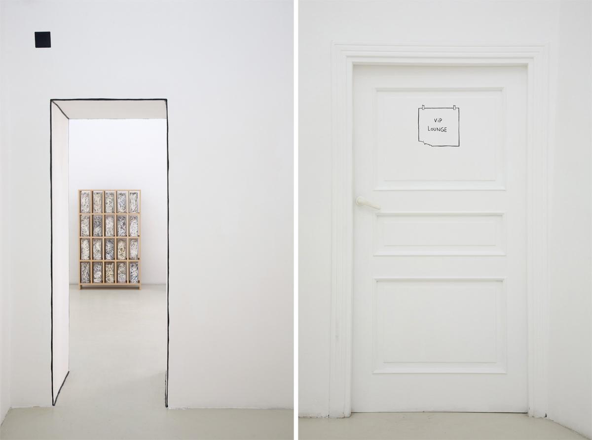 Marco Raparelli, Marc Breslin, Jota Castro, exhibition view