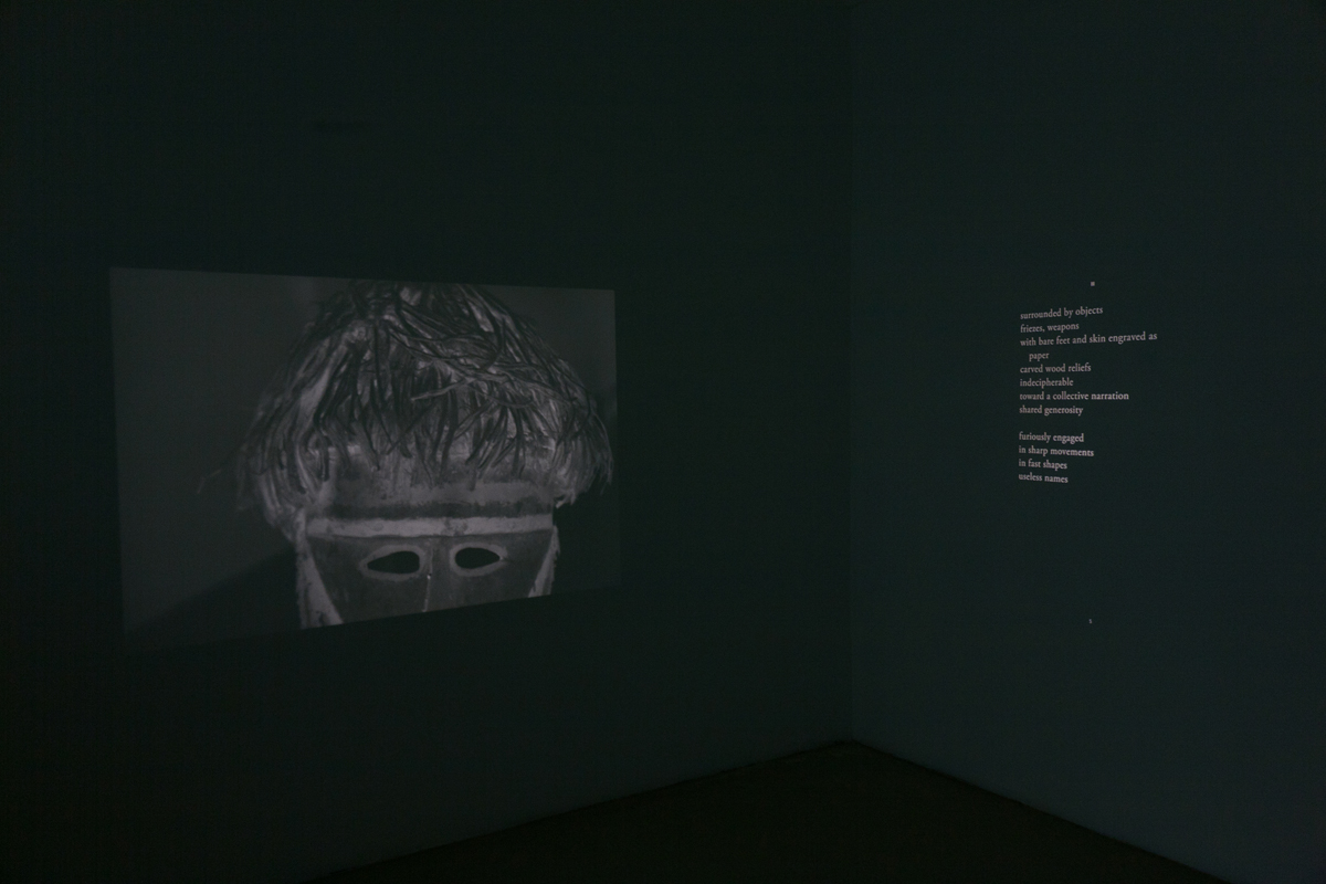 Barbarian Poems, 2011, exhibition view