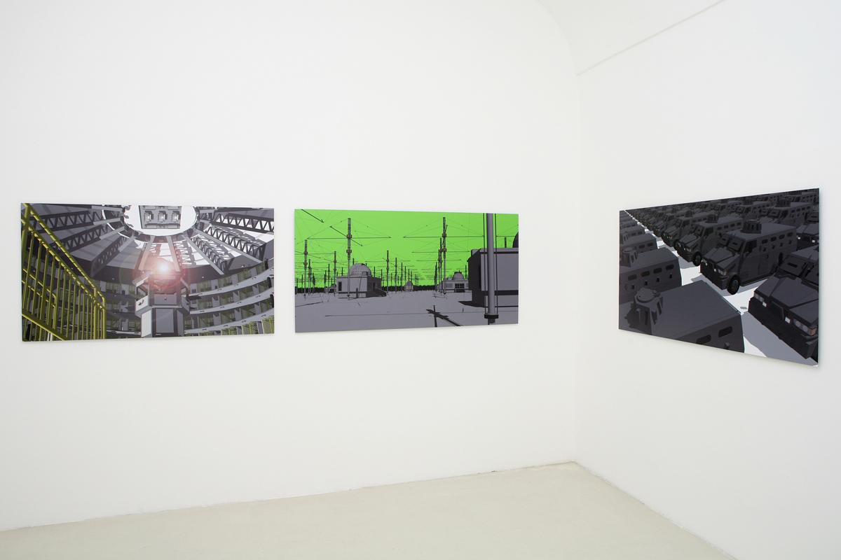 Loidys Carnero, exhibition view