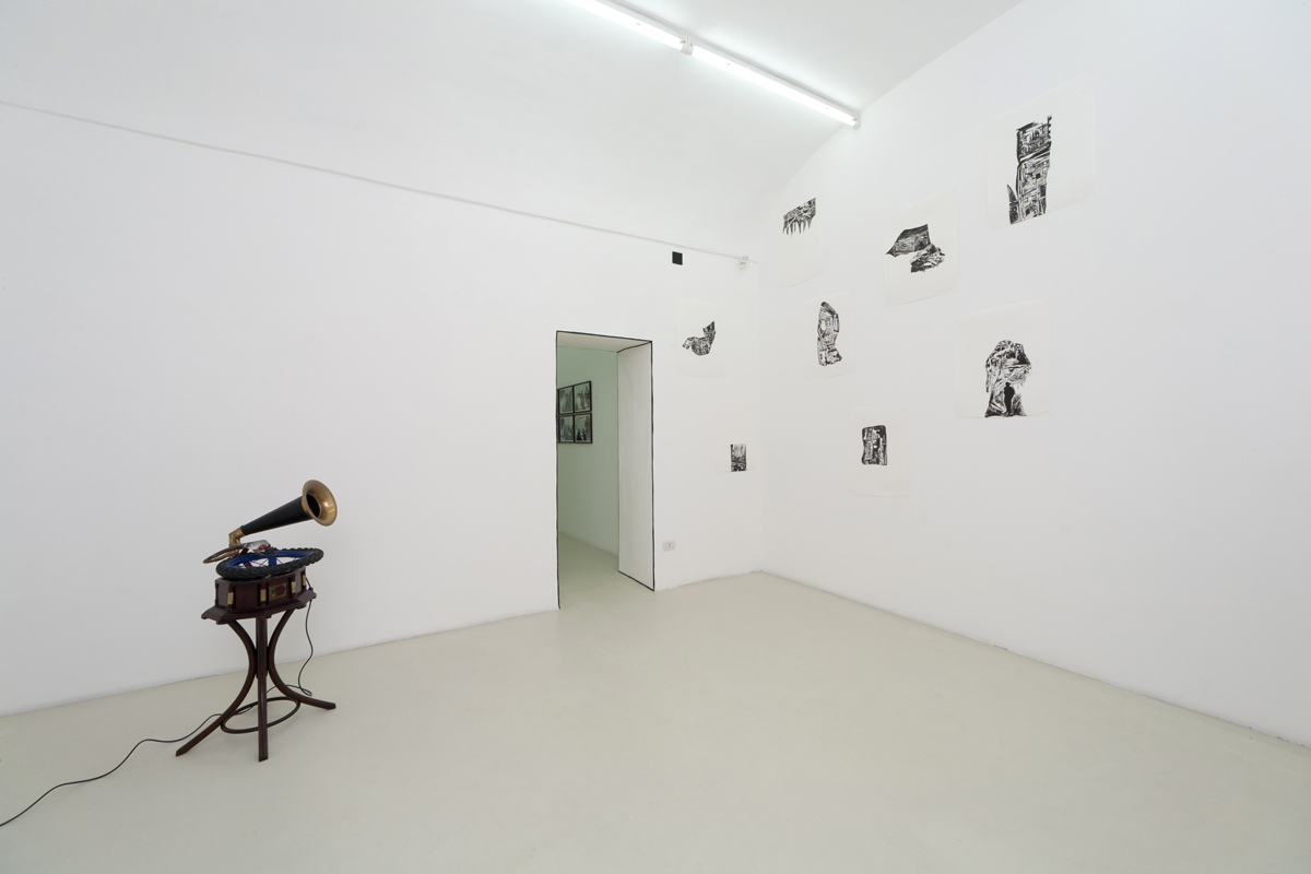 Eugenio Tibaldi, Santiago Cucullu, exhibition view