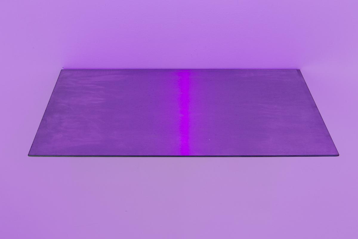 La fine dei fiumi, 2014, stainless steel, cm 25x50