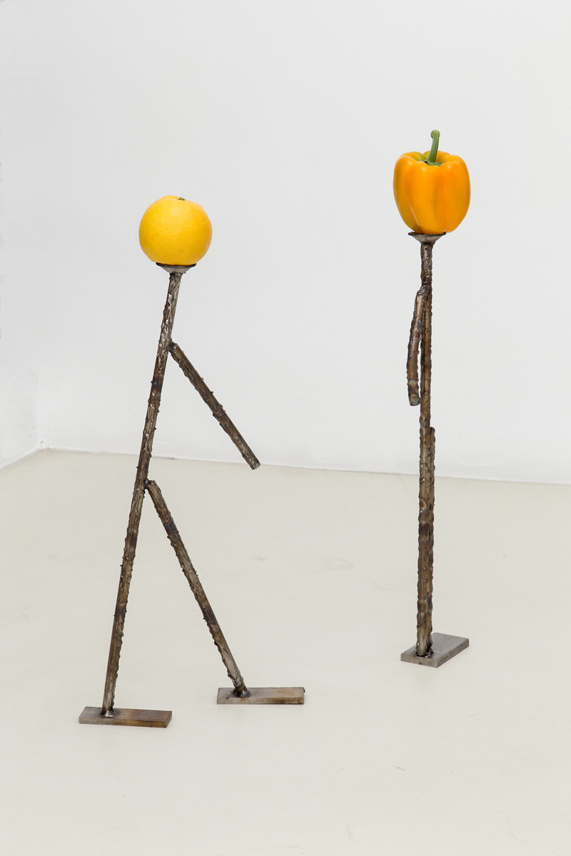 Cafone, 2014, stainless steel worked, vegetable