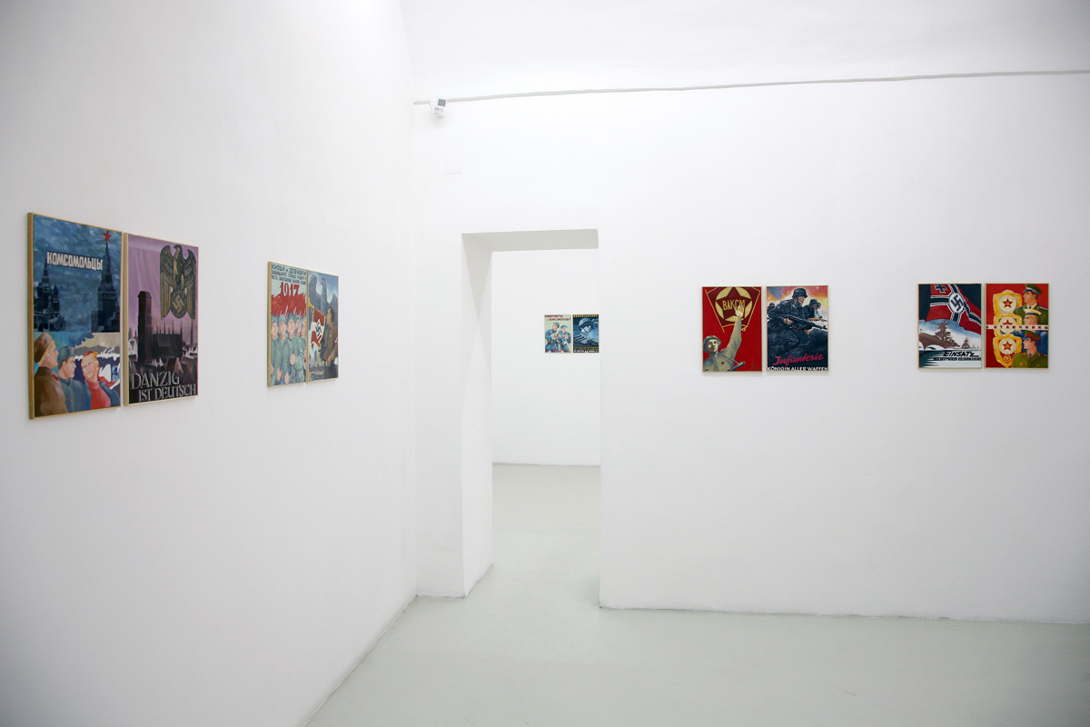 La Canzone del male - Historikerstreit, 2008 exhibition view