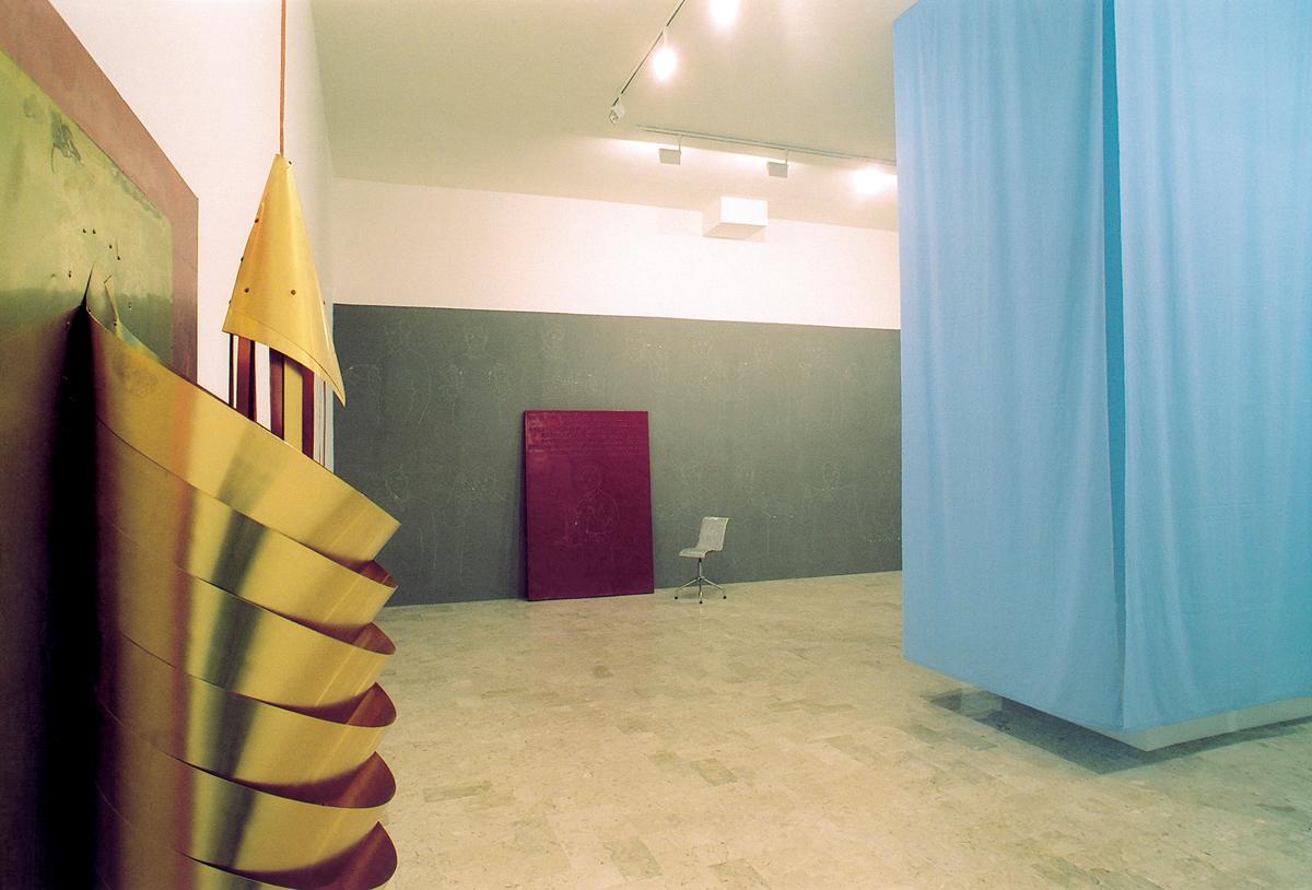 Architetture del colore, 2002, exhibition view