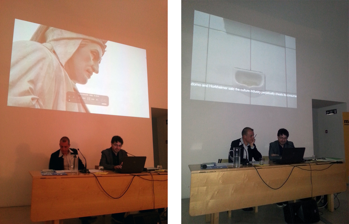 video screening and talk with Sergio Vega and Eugenio Viola at Museo Madre, Napoli