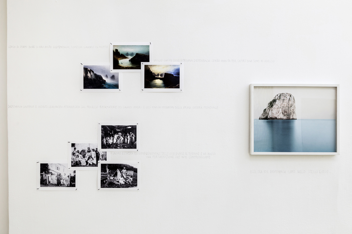 Capri. The Diefenbach Chronicles,2015, installation view
