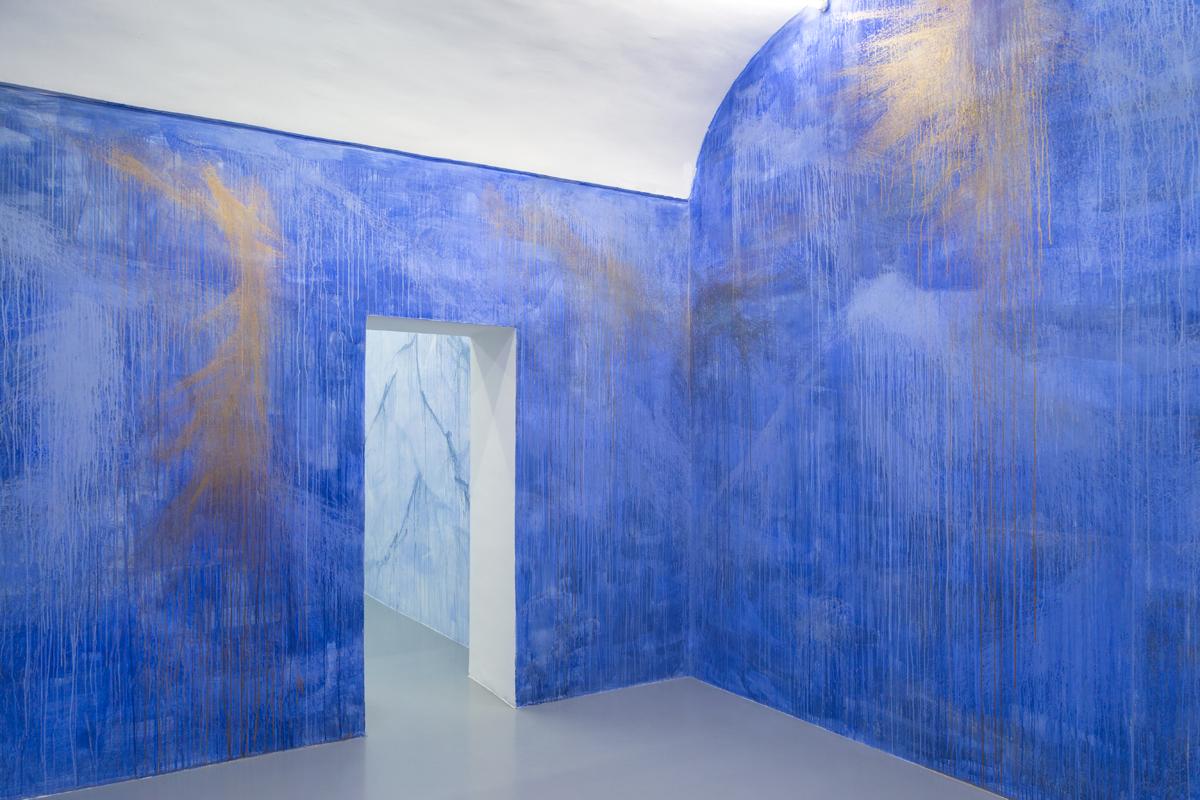 Aura, 2017, wall painting, var.dim